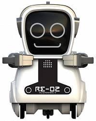 Робот интерактивный «Покибот Silverlit» белый квадратный (Silverlit, 88529-6)