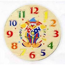 Деревянный пазл в рамке Часы-цифры (Wooden Toys, D29b)