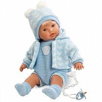 Кукла Нико, 48 см (Llorens Juan, S.L., L 48229veg)