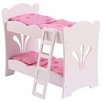 Двухъярусная кроватка - колыбель для куклы (KidKraft, 60130_KE)