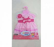 Платье для куклы, розовое (Baby Dolls, B1552483sim)