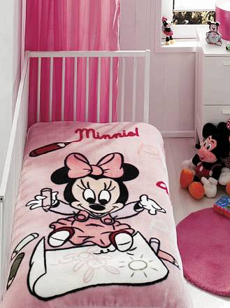 Плед Baby Minnie Scribble 0-3 лет