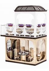 Бежевый кукольный домик Коллекция (Завод Огонёк, ОГ1293)