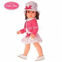 Кукла Rosa в шляпке, 45 см. (Antonio Juan Munecas, 2803P)