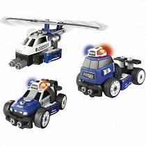 Конструктор 3 в 1 – Полиция, свет (Smoby, 500223)