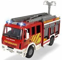 Пожарная машина с водой, 30 см, свет и звук, свободный ход (Dickie, 3717002)
