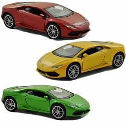 Модель машины Lamborghini Huracan, 1:34-39 LP 610-4 (Welly, 43694) - миниатюра