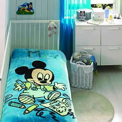 Плед Baby Mickey Scribble 0-3 лет (Tac, 7010-71017719)
