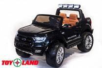 Электромобиль – Ford Ranger 2017 New 4x4, черный, свет и звук (Toyland, F650 Ч)