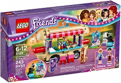 Lego Friends. Парк развлечений: фургон с хот-догами (Lego, 41129-L)