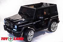 Электромобиль Mercedes Benz G65, цвет - черный глянец (ToyLand, MBAMGG65 ЧГ)