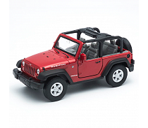 Модель машины Jeep Wrangler Rubicon (Welly, 39885C)