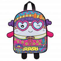 Набор из серии Раскрась рюкзак - Симпатяшка, с 5 фломастерами, от 4 лет (Alex, 510G)