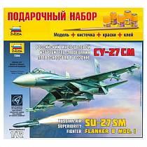 Подарочный набор для сборки - Самолёт Су-27СМ (Звезда, 7295П)