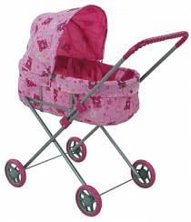 Классическая коляска для кукол с регулируемым капюшоном - Buggy Boom Mixy (Melobo, 8013d)