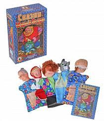 Домашний кукольный театр Красная шапочка, с 5 персонажами (Русский Стиль, 11065н)