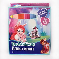 Пластилин Enchantimals, 10 цветов, 200 г (Centrum, 88616)