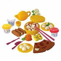 Набор с пластилином - Китайская кухня (Playgo, Play 8594veg)