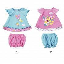 Одежда для кукол Baby born - Туника с шортиками (Zapf, 823-552)