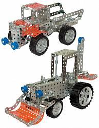 Конструктор металлический Грузовик и трактор (Десятое королевство, 00953ДК)