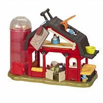 Озвученная игрушка - Музыкальная ферма, с аксессуарами и фигурками животных (B Dot, b68680)