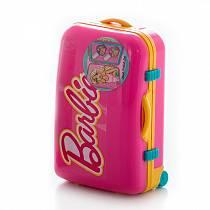 Набор детской декоративной косметики из серии Barbie, в розовом чемоданчике (Markwins, 9600351)