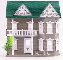 Кукольный домик с аксессуарами (RINZO, pt-00137)