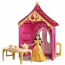 Набор с куклой «Принцесса Диснея» – Комната Белль (Mattel, BDJ98/BDJ97)