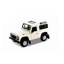 Коллекционная машинка Land Rover Defender, масштаб 1:34-39 (Welly, 42392) - миниатюра