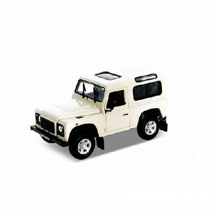 Машинка Land Rover Defender, масштаб 1:34-39