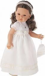 Кукла Белла Первое причастие, брюнетка в кремовом, 45 см. (Munecas Antonio Juan, 2800BR)