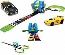 Bburago Автомобильная трасса с двумя треками и инерционными пластиковыми машинками, масштаб 1:55 (BBURAGO, 18-30262)