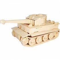 Модель деревянная сборная - Тигр МК-1 (Wooden Toys, P322)